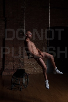 The 2012 naked calendar shoot